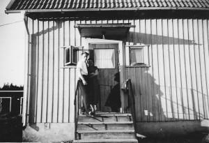 Kjell och jag 1957